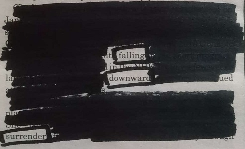Blackout poem 01