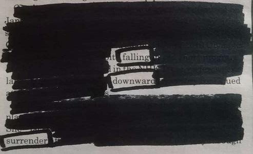 Blackout poem 01