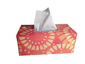 tissues box